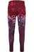 The North Face Super W's Waisted Printed Legging Deep Garnet Red/Geofire Print
